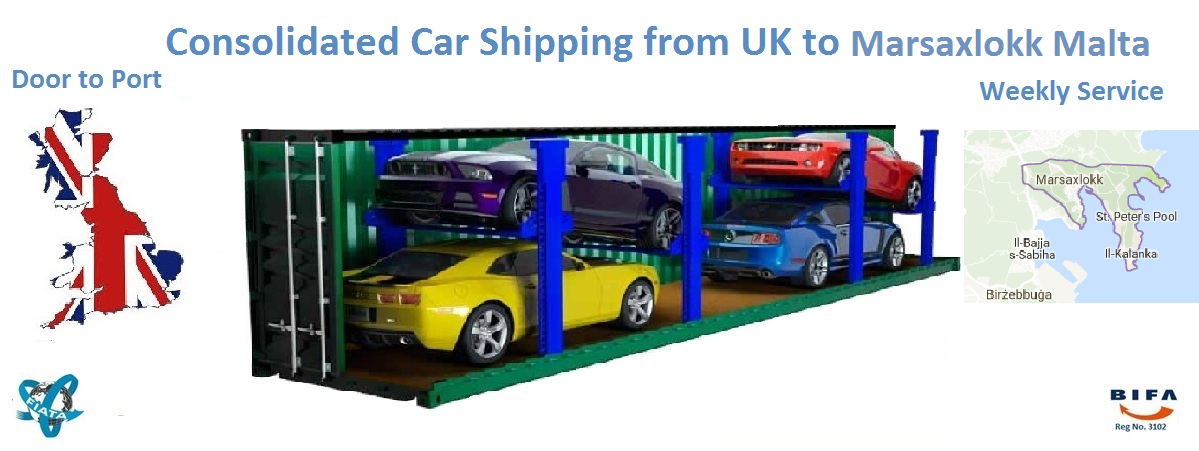 Uk To Malta Shipping Cars