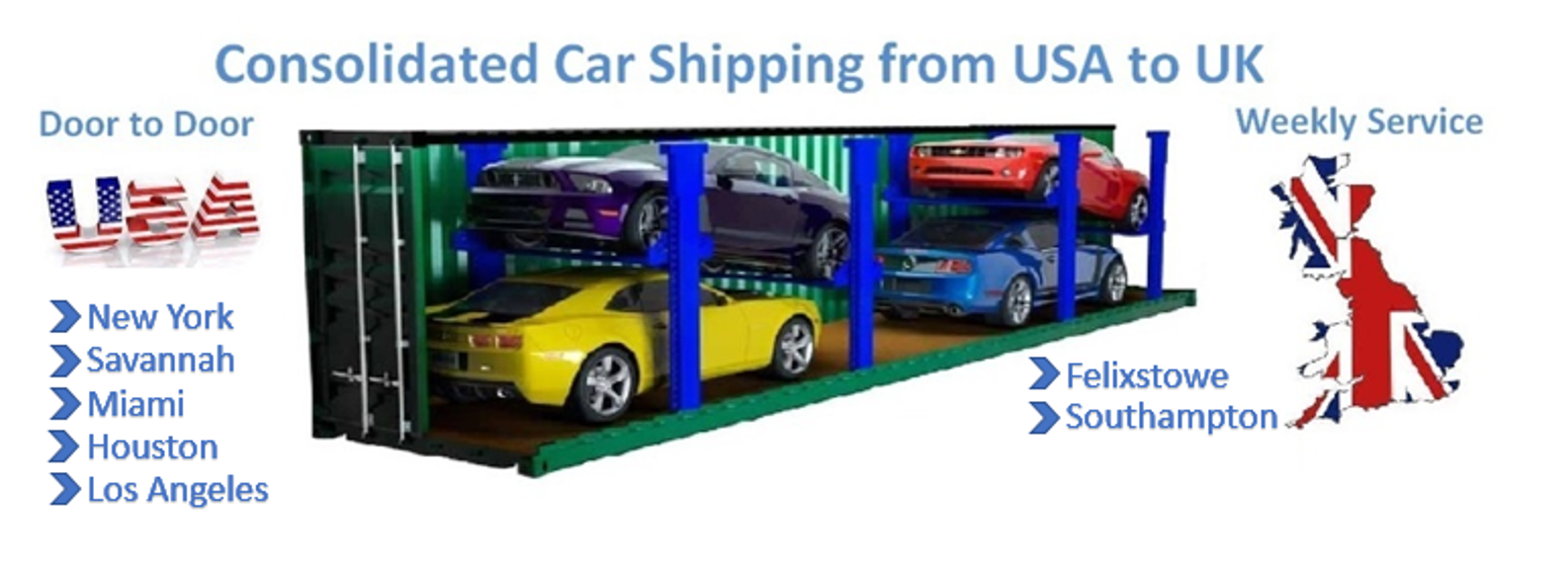 How Much Does It Cost To Have A Car Shipped >> Usa Car Shipping Services