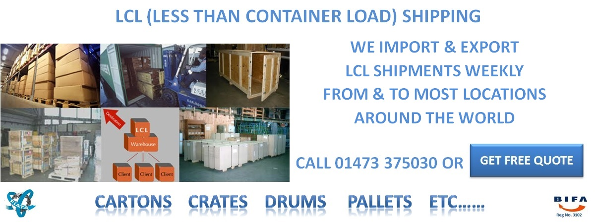 Container Shipping services, Sea Freight shipping