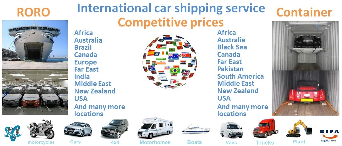 Car Shipping to South Africa - Durban, Roll-on/roll-off