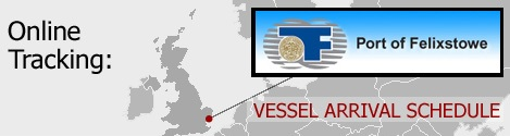 Felixstowe Vessel Arrivals