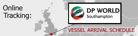 Southampton Vessel Arrivals