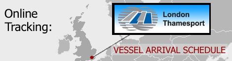 Thamesport Vessel Arrivals