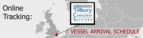Tilbury Vessel Arrivals